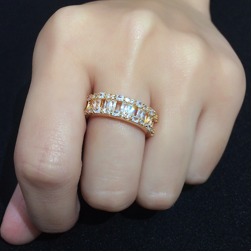 Alloy Simple Geometric Ring  Alloy  Fashion Jewelry NHAS0402Alloy