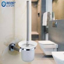 免打孔衛生間不銹鋼馬桶刷套裝 衛浴馬桶刷架馬桶杯子掛件