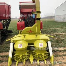 自走履带式玉米秸秆青储机山东博越牧草收割机 玉米青贮机价格