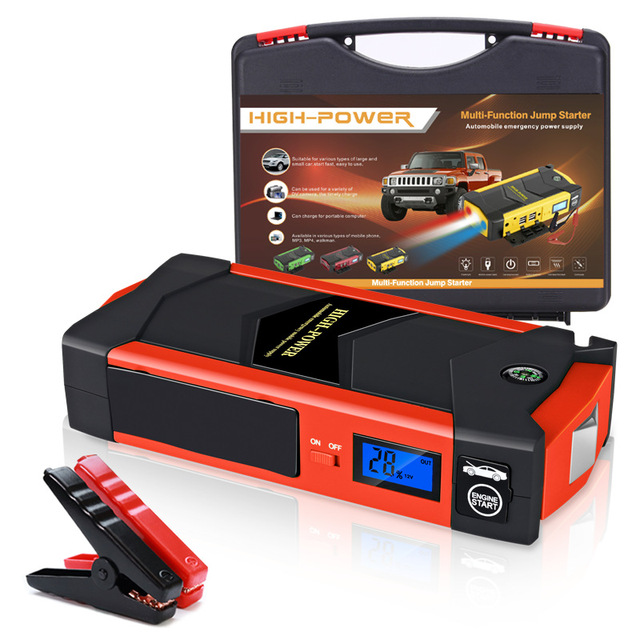 Car Jump Starter Portable 600A Car Battery Booster Charger