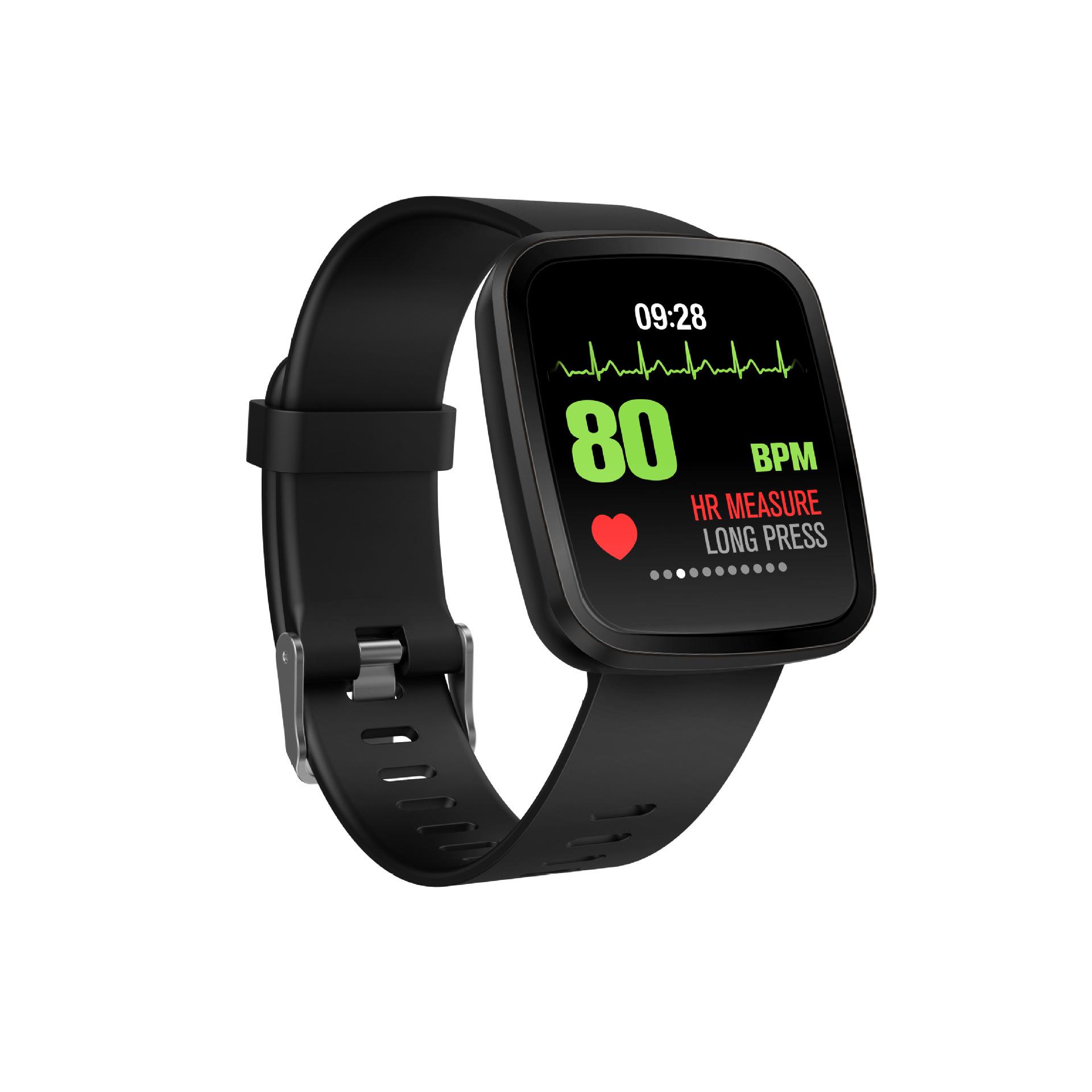 新款V6智能手表手环私模专利1.3寸彩屏心率蓝牙计步瑞都智能原厂