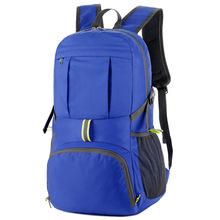 跨境专供户外旅行背包定制可折叠便携防水双肩包运动轻便登山包男
