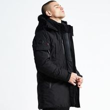 men Down Jackets Man winter warm coats Cotton-padded clothes