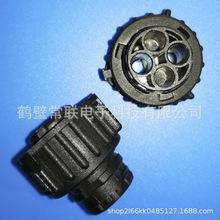DJ3022Y-2.5-21 1-1813099-3圆形2.5重卡连接器 国产AMP汽车胶壳