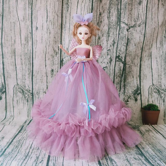 新款罗丽公主天使婚纱洋娃娃可爱室内摆件钥匙扣挂件女孩玩具批发