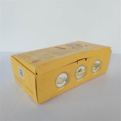 河南众诺厂家定制加工卡纸盒 糖果礼盒 优质快餐打包卡纸盒