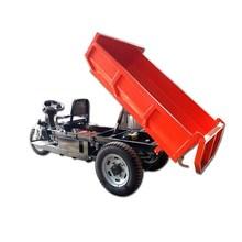 拉货柴油电瓶三轮车 矿用自卸工程货运车 工地载重载货电动三轮车