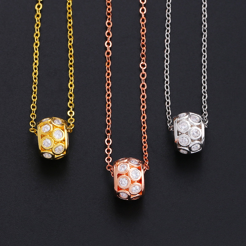Alloy Simple Geometric necklace  (Alloy)  Fashion Jewelry NHAS0523-Alloy