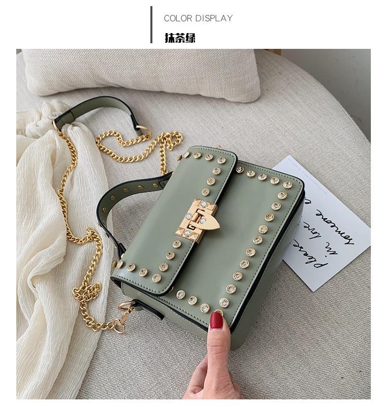 Portable simple wild layered handbag NHLD121214