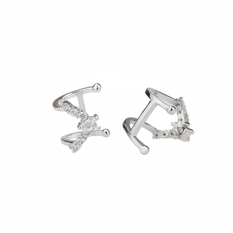 Copper Simple Geometric earring  (Alloy plating)  Fine Jewelry NHBP0390-Alloy-plating