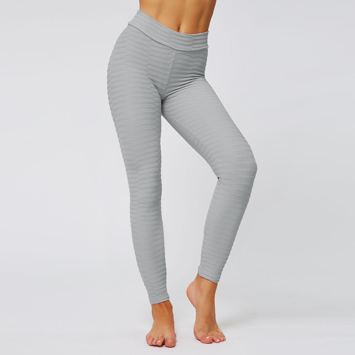 sexy tight three-dimensional hip yoga pants NSLX9032