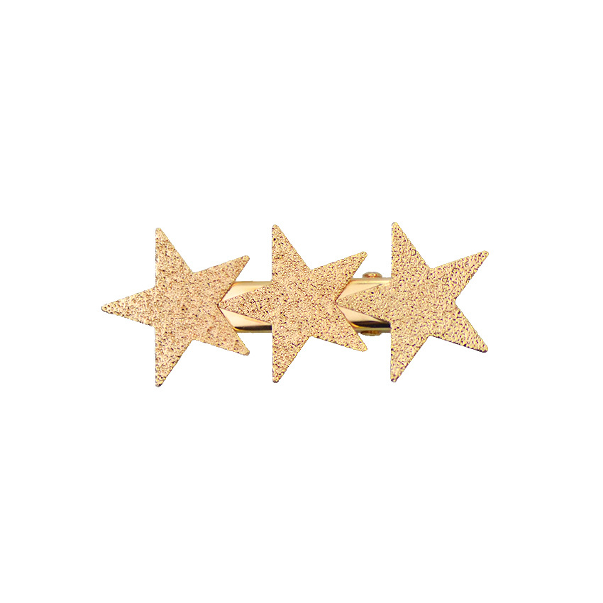 Simple alloy love five-pointed star hair accessories NHHN147965
