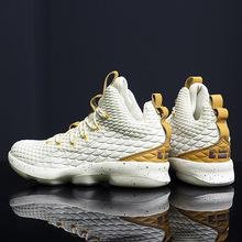 詹姆斯戰靴歐文5春夏籃球鞋男子增高情侶運動鞋學生男鞋休閑鞋