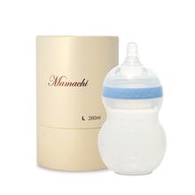 韩国原装进口mamachi妈妈亲硅胶奶瓶宽口耐摔防胀气 清仓