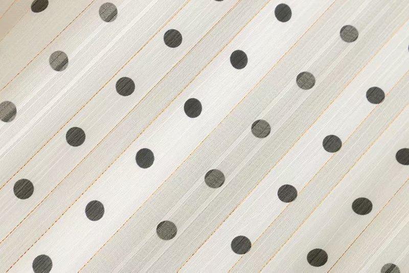 Polyester Fashionskirt(White-S) NHDS0712-White-S