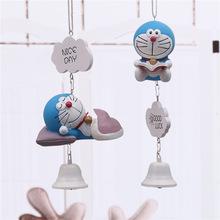 日式哆啦A梦?#22810;?#22047;风铃叮当猫家装 儿童学生精品礼物门饰车饰挂件