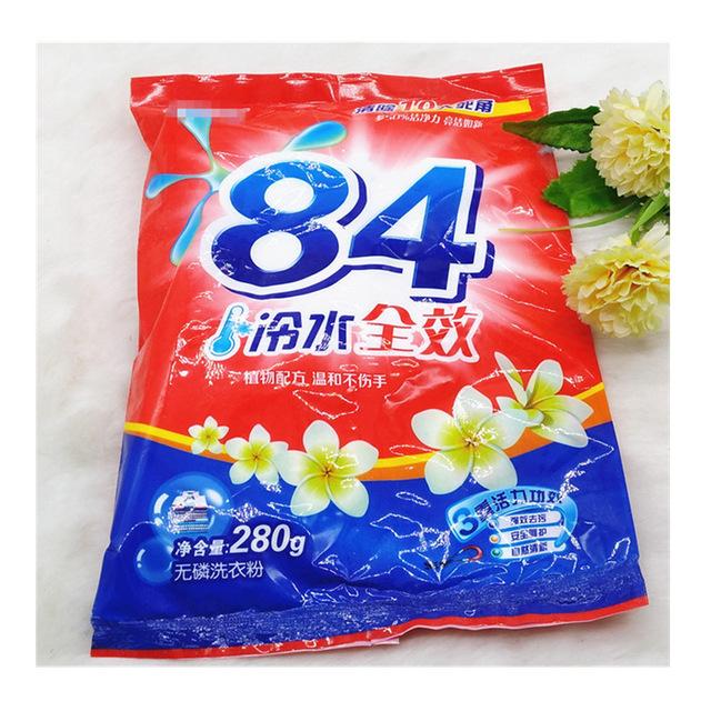 Q085C亚之洁84洗衣粉+200起二元店地摊货源 2元店超市供货