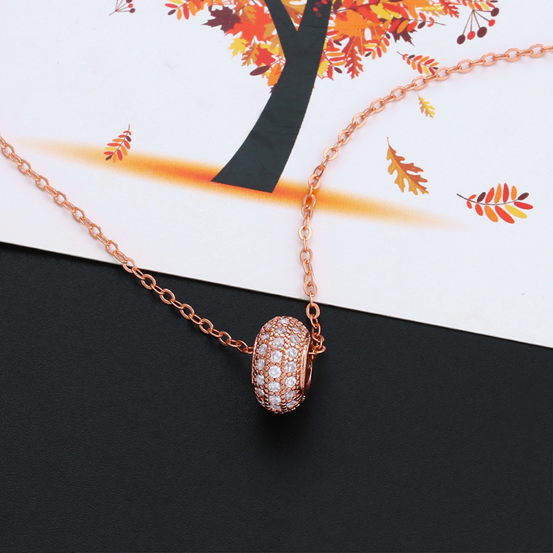 Alloy Simple Geometric necklace  (Alloy)  Fashion Jewelry NHAS0533-Alloy