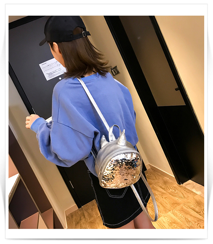 PU leather Backpack LD190413117396
