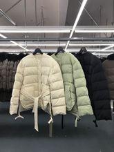 韓國東大門女款專柜品質外貿貨源一手廠家新款短款羽絨服帥氣清倉