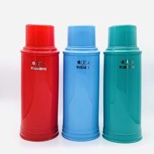 廠家批發保溫熱水瓶5磅光面小暖瓶2升暖壺學校學生家用塑料茶瓶壺