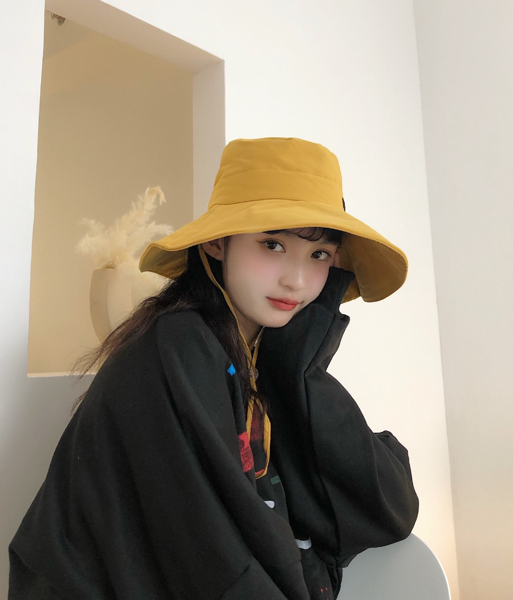 Embroidered big along fisherman hat fashion outdoor sun shade sun hat NHXB191920