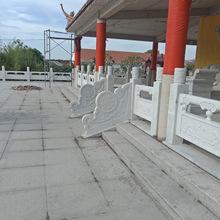 厂家制作安装石雕栏栏板电脑雕刻浮雕栏板河道寺庙防护栏价格优惠