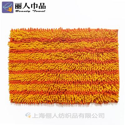 厂家代定做 雪尼尔地垫地毯 超细纤维卫生间地垫 柔软吸水防滑