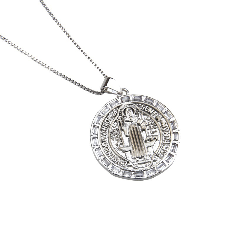 Copper Fashion Geometric necklace  (Alloy plating)  Fine Jewelry NHBP0432-Alloy-plating