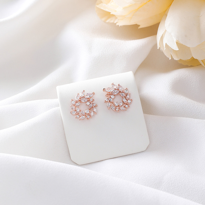 Alloy Korea Geometric earring  (A alloy)  Fashion Jewelry NHMS2287-A-alloy