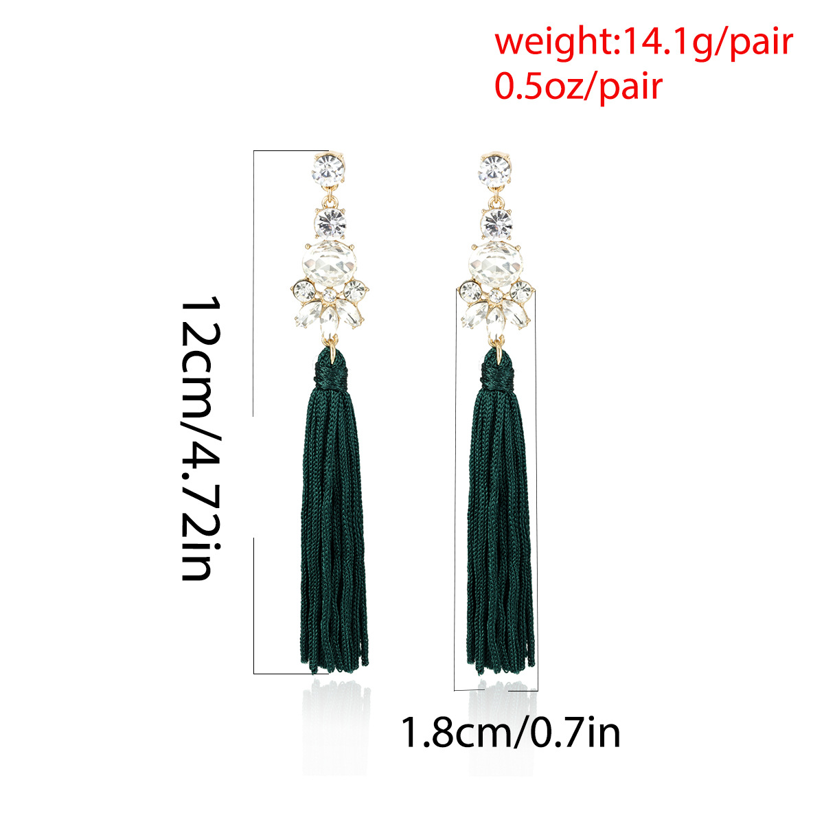 Womens Geometry Electroplating Alloy Earrings NHXR152262