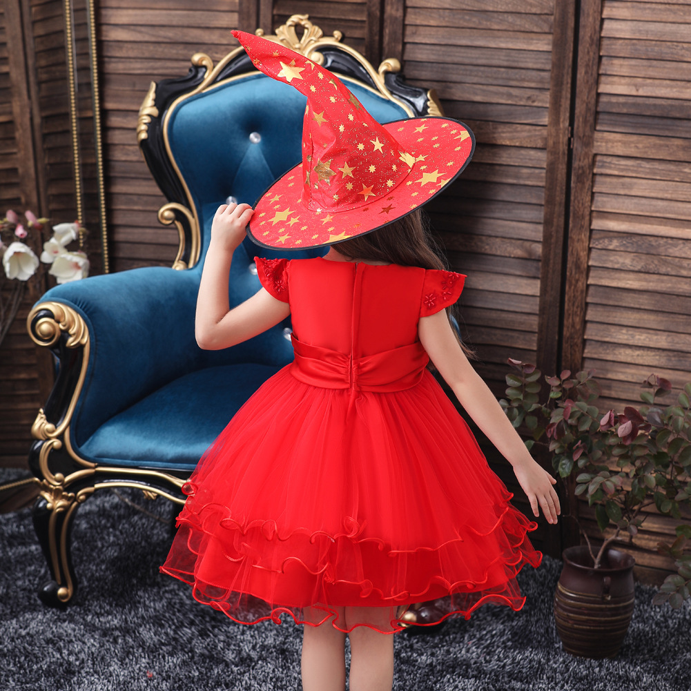 Little witch dress princess pettiskirt children dress children dress NHTY198313