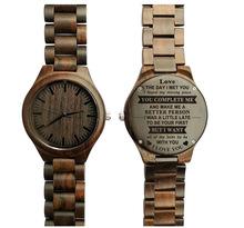 欧美饰品创意特色手表底盖雕刻定制 一对一 父子手表厂家爆款批发