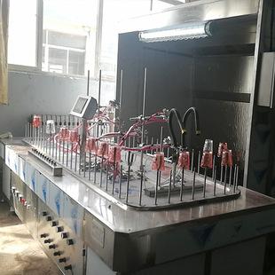 深圳塑胶竹木制品玻璃蜡烛工艺品自动喷漆线喷涂线自动喷油涂装线