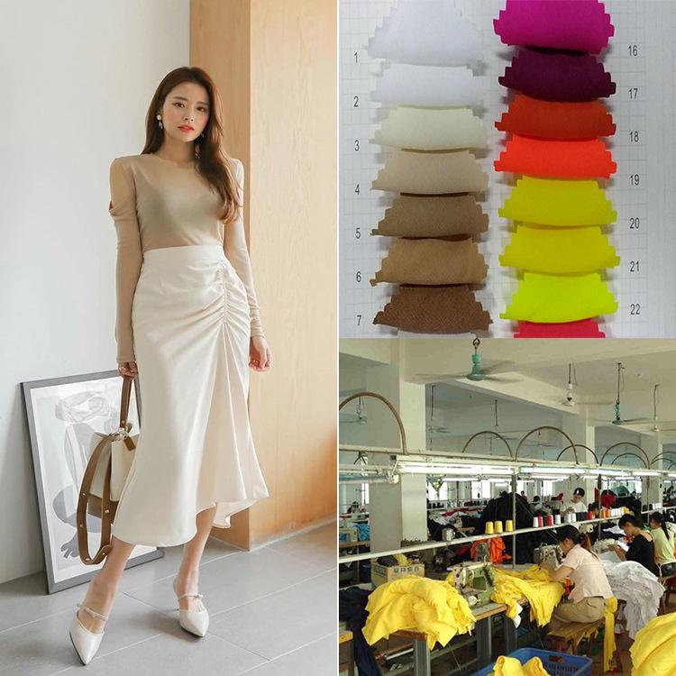 淘工厂连衣裙女装加工 实力厂家来图来图贴牌服装定制加工
