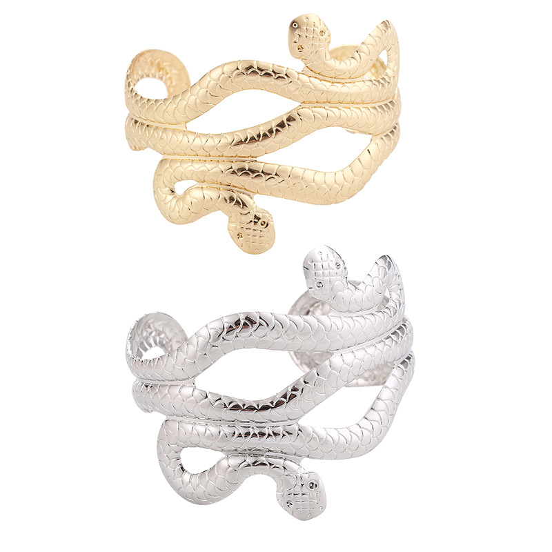 Metal snake bracelet opening adjustable bracelet wholesales fashion NHHN179711