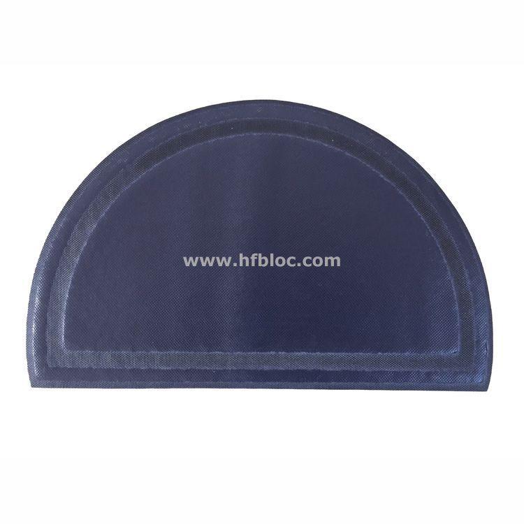 厂家直营pvc半圆圆形宠物垫加厚拉丝款 舒适易清洗丝圈可制定