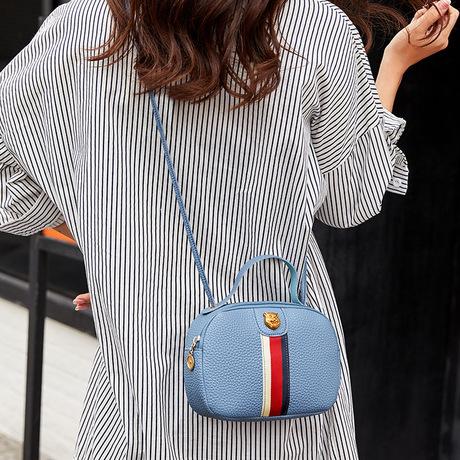 Túi đeo vai 2019 phiên bản Hàn Quốc thời trang mới ruy băng túi vuông nhỏ đơn giản túi xách mini đeo vai nữ đeo chéo thủy triều