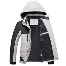 新款韓版男女戶外沖鋒衣跨境獨立情侶戶外棉衣防風防水保暖登山服