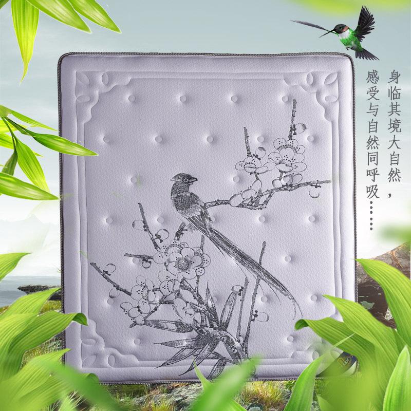 直销酒店家用席梦思乳胶独立弹簧3E椰棕海绵床垫可定制