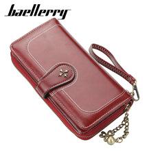 baellerry新款四叶草多功能女士钱包卡包时尚搭扣韩版手机包批发