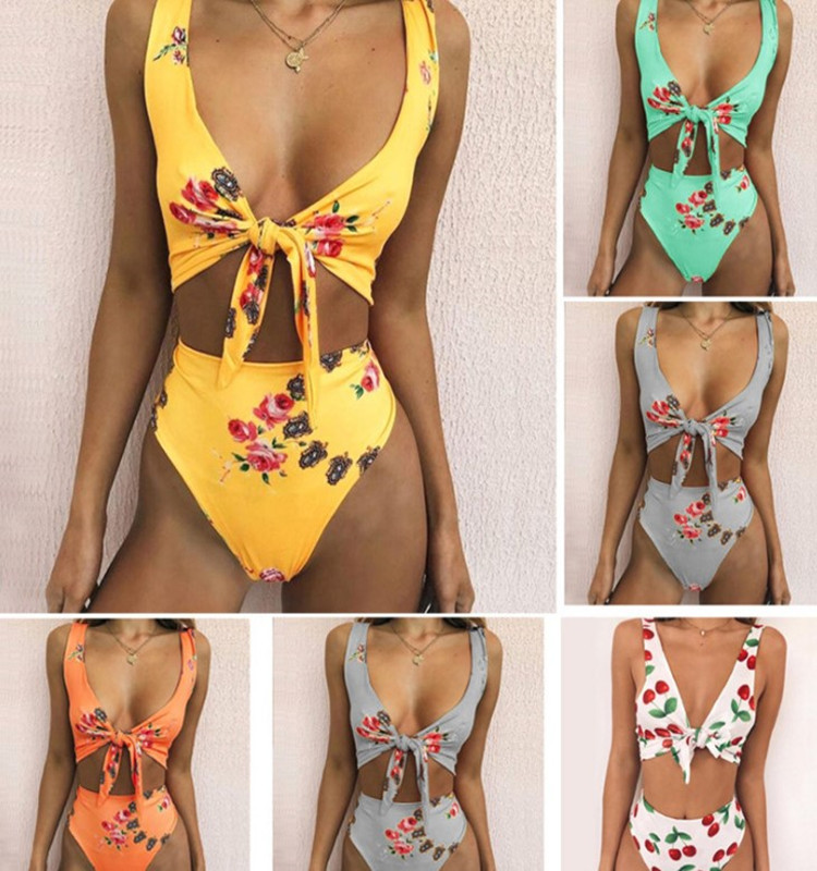 EBay's new printed bow swimsuit is sexy and multi-color