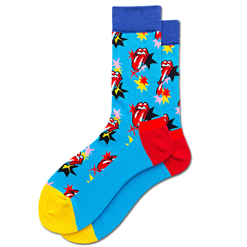 Fashionable cotton HAPPY SOCKS NHZG150176