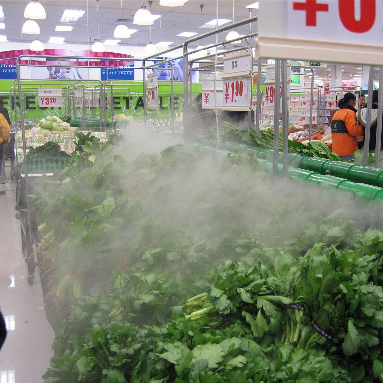济南蔬菜保鲜超声波加湿器冰台菜品保鲜加湿器商用明档喷雾加湿器