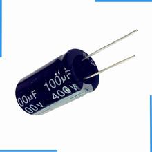 锐华 插件电解电容供应商 100uF 400V 18*30 高容量高压圆柱形