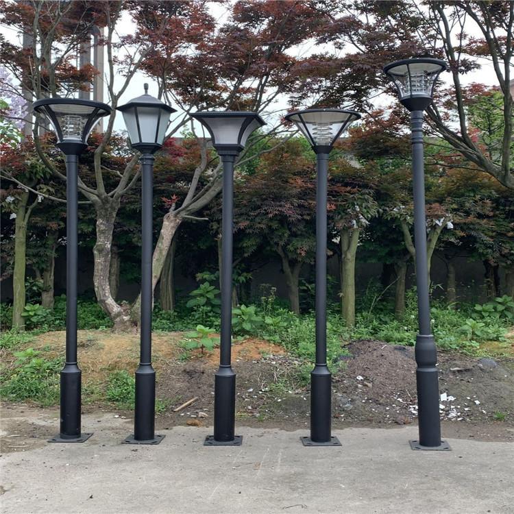 现代简约LED庭院灯头小区景观花园园林户外防水路灯厂家直销定制