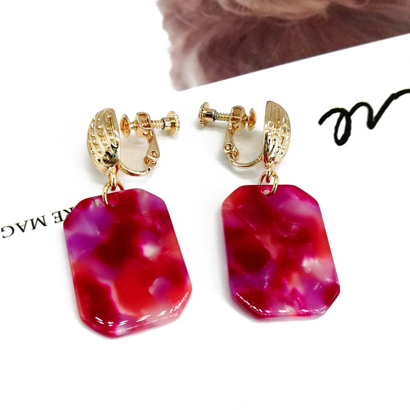 Alloy Fashion  earring  (Photo Color)  Fashion Jewelry NHOM1599-Photo-Color