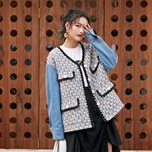 5587藤香小香風外套女2020春季新款原創女裝短款上衣一件代發