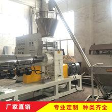 厂家直销造粒生产线-PE PP单阶水环切粒(出口埃塞俄比亚PE片料)