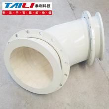 厂家供应钢衬耐磨陶瓷管道 定制各种规格粉煤灰管道 内衬陶瓷弯头